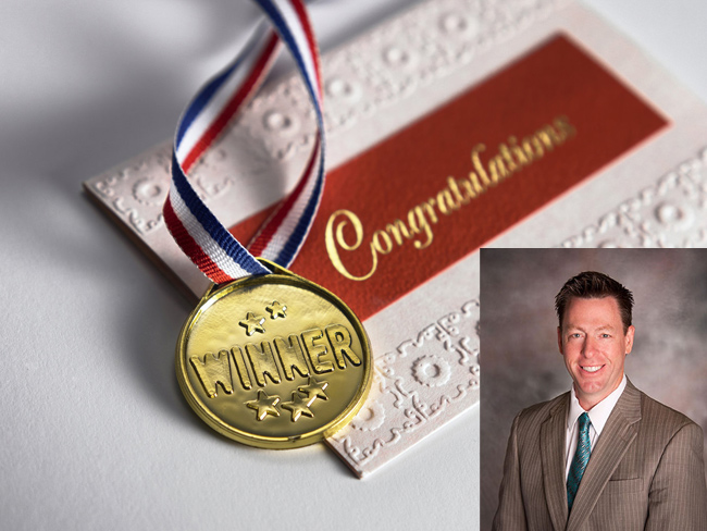 Finderson wins wilg president's award